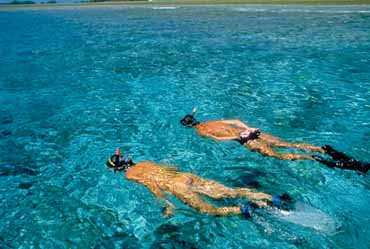 Snorkeling during New York to Bermuda Cruise
